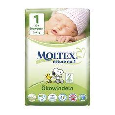 MOLTEX Öko Newborn 23st