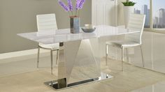Shop Bianco Marble Dining Table with Polished Stainless Steel Base and other modern and contemporary home and office furniture. Browse our selection of Tables from Zuri Furniture. Modern Buffet, Modern Dining Table, Dining Chair Set, Dining Room Chairs, Dining Room Furniture, Dining Tables, White Quartz Counter, Teal Accent Chair, Accent Chairs