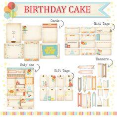 ** Chic Tags- delightful paper tags **: CHA Sneak Peek- Birthday Cake  NEW COMPANY!!!