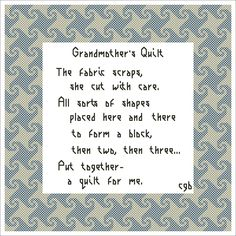 Free Quilt Patterns to Print | Free Grandmother's Quilt Cross Stitch Pattern - Free Quilt-Inspired ...