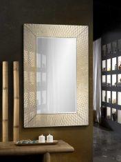 Miroir Moderne en Feuille d´Or : Modèle HERMES
