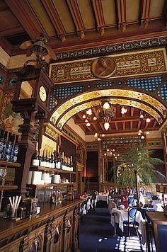 Art Nouveau et Jugendstil. Courants artistiques et littéraires de 1880 à 1920: Brasseries et cafés IX : la Cigale à Nantes