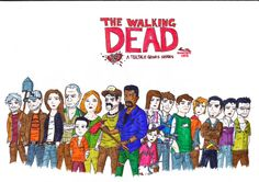 THE WALKING DEAD by EpicFacemaster.deviantart.com