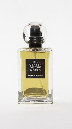 MONDO MONDO The Center of the World Perfume