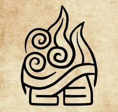 Avatar Airbender, Avatar Aang, Avatar Tattoo, Element Tattoo, Anime Tattoos, Body Art Tattoos, 4 Elements, Four Elements Tattoo, Arte Elemental