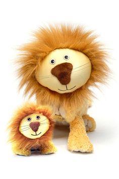 Lion Blanket Pet with Mini Plush