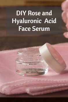 DIY Rose and Hyaluronic Acid Face Serum to hydrate and plump your skin. DIY Rose and Hyaluronic Acid Face Serum to hydrate and plump your skin. Homemade Skin Care, Diy Skin Care, Skin Care Tips, Homemade Beauty, Skin Tips, Homemade Sunscreen, Belleza Diy, Tips Belleza, Healthy Beauty