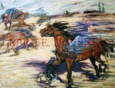 "Saatchi Online Artist Ebru E Duvenci; Painting, ""untitled, 2004, oil on canvas, 70x105cm"" #art"