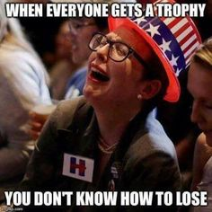 Seriously.... this is the sad truth today with the Liberals in America... Grow up! Accept a loss....