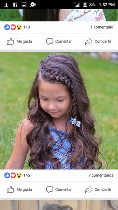 Pin By Stefani On Cute Kids Hair Today Hair Styles Curly - Pin By Stefani On Cute Kids Cute Girls Hairstyles Childrens Hairstyles Hairstyles For Picture Day Toddler Hairstyles Fast Hairstyles Braided Hairstyles Short Haircuts Braids With Curls Girls Braid Cute Hairstyles For Kids, Baby Girl Hairstyles, Fast Hairstyles, Princess Hairstyles, Braided Hairstyles Updo, Cute Kids Hairstyles, Hairdos, Childrens Hairstyles, Style Hairstyle