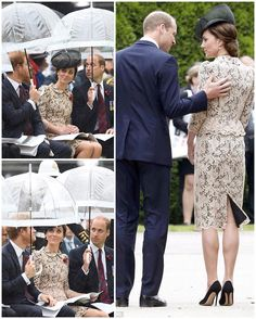 For day two of the #Somme100 commemorations, the Duke & Duchess of Cambridge returned to the Thiepval memorial to officially open its museum before a memorial service took place. The Duke and Duchess of Cornwall, Duke and Duchess of Gloucester and Prince Harry also joined Prime Minister David Cameron, Labour leader Jeremy Corbyn and French President Francois Hollande at the memorial for a service of remembrance in front the huge audience. The Duchess of Cambridge told schoolchildren she was…