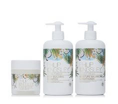 QVCUK TSV OFFER 06/09/17... 233416 - Philip Kingsley Coconut Breeze 3 Piece Hair Collection - QVC Price: £49.00  TSV Price: £39.96 + P&P: £5.95 or 3 Easy Pays of £13.32 +P&P  This three-piece haircare collection from the experts at Philip Kingsley features the Body Building Shampoo, Moisture Balancing Conditioner and award-winning Elasticizer hair treatment, all in the deliciously exotic fragrance, Coconut Breeze. Leave your hair feeling full of body and well-hydrated, and smelling of…