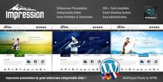 Impression Premium Corporate Presentation WP Theme