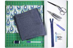 DIY Envelope Clutch (iPad / Tablet Case) - Materials