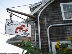 Barnacle Billys  best spot in the cove!  Perkins Cove, Ogunquit ME.. No trip to Ogunquit would be complete without enjoying an amazing seafood dinner here!!! LOVE this place!!