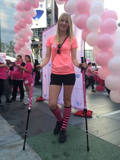BungyPump Walking the Making Strides Against Breast Cancer Walk in Downtown Los Angeles on October 17th, 2015