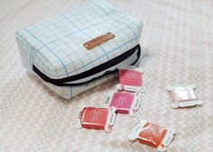 How to Make a Toiletry Bag ~