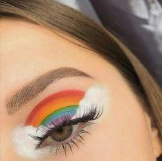 Crazy Eye Makeup, Cute Eye Makeup, Dope Makeup, Face Paint Makeup, Halloween Eye Makeup, Edgy Makeup, Makeup Eye Looks, Creative Makeup Looks, Colorful Eye Makeup