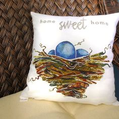For all the homebodies out there who love their little sanctuaries this new pillow cover (and more!) is now available for order. Visit http://ift.tt/1LtSWVn (or click link in profile) to see what's new!  #homesweethome #homes_sweet_home #homelove #throwpillows #pillowcover