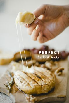 PERFECTLY BAKED BRIE