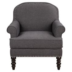 Tailored Club Chair – Grey