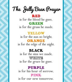Jelly Bean Prayer I love this!!! Come join the fun #workingfromhome with #TLC get healthier and #wealthier www.tlc.withDonna.com