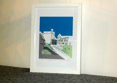 Stockbridge Colonies' by Cassandra Harrison   Textile Art   Daisy Cheynes #stockbridgeedinburgh #stockbridge #edinburgh #scotland @daisycheynes