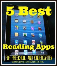 Five Best Reading Apps for Pre-K and Kindergarten