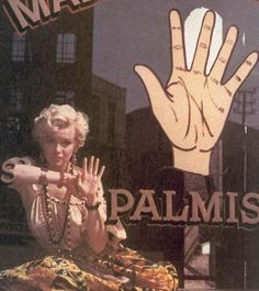 Palm reader - Milton Greene
