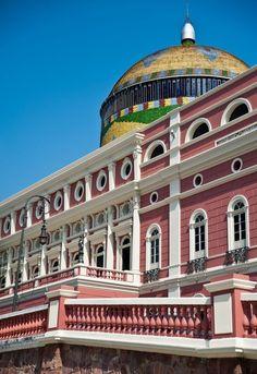 Teatro Amazonas - Manaus, Amazonas - (by Duda Arraes) #amazonia