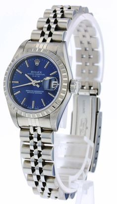 Rolex Date Ladies Rolex Watches For Sale, Ebay Watches, Luxury Watches, Rolex Date, Silver Man, Omega Watch, Lady, Casual, Accessories