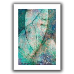 'Botanic Texture' by Cora Niele Canvas Poster