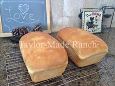 FINALLY, a soft, flavorful sandwich bread!  My KitchenAid speeds the kneading time significantly and the results? DELICIOUS!  #TaylorMadeRanch
