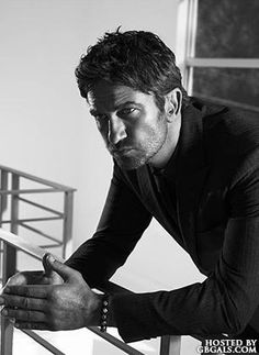 Gerard Butler: Esquire Magazine, 2013. Stalking this man (kinda) was 100% worth it because now I know Gerry Butler. And no, I'll never stop bragging.