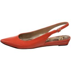 Orange.  Love orange shoes.