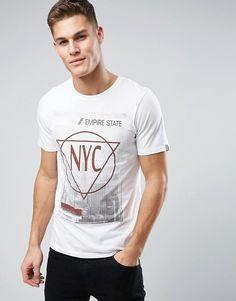 979824626023 Produkt - T-shirt con stampa e scritta