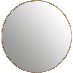 Found it at AllModern - Round Wall Mirror