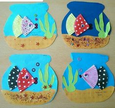 Animal Art Projects For Kids Preschool Crafts For Preschoolers 70 Ideas Kids Crafts, Daycare Crafts, Summer Crafts, Toddler Crafts, Projects For Kids, Arts And Crafts, Paper Crafts, Art Projects, Ocean Crafts