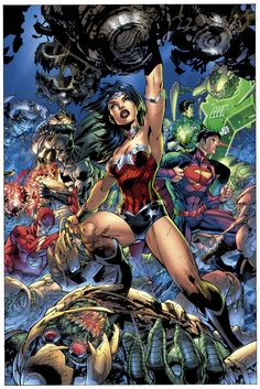 Justice League 3 Cover by *sinccolor on deviantART