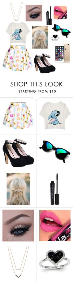 """""""Untitled #3"""" by veronika-altanez on Polyvore featuring Smashbox, Fiebiger, Michael Kors and Kevin Jewelers"""