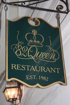 82 Queen, Charleston, SC  www.82queen.com