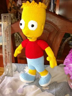 Bart Simpson crochet