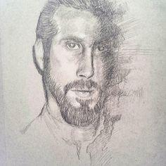 """The light will always consume the darkness"" -avi kaplan {#avikaplan #pentatonix #ptx #ptxfanart #avikaplandrawing #portait #beard #manbun #tonedpaper #drawing #worldofartists #artofdrawingg }"