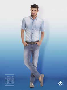 Total jeans  é uma tendência super cool para os meninos
