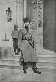 Grand Duke Michael Aleksandrovich of Russia 1878 to 1918 in Cossack uniform Brother of Tsar Nicholas II. House Of Romanov, Tsar Nicholas Ii, Grand Duke, Imperial Russia, World War One, Military History, Vintage Photographs, Pictures, Soldiers