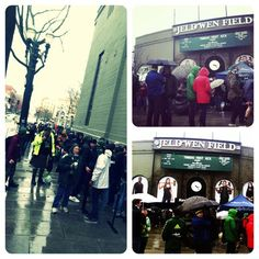 Dedicated Portland Timbers fans. Watch Timbers vs. Union #FirstKick on ESPN2 at 6:30pm. Kickoff near 6:55pm #RCTID