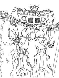 Kleurplaten Van Transformers.7 Beste Afbeeldingen Van Kids Transformers Kleurplaat Transformers
