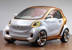 Daimler Smart Forvision, Future car