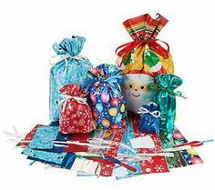 Kringle express 60 piece e z drawstring holiday gift bag bow set kringle express 52 piece e z drawstring holiday gift bag set negle Image collections