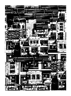 Linocut (2010-2011) by Gergo Laszlo Kiss -Anry-, via Behance
